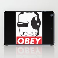 invader zim iPad Cases featuring Obey Zim by Omitted