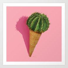 Caramba Cacti Art Print