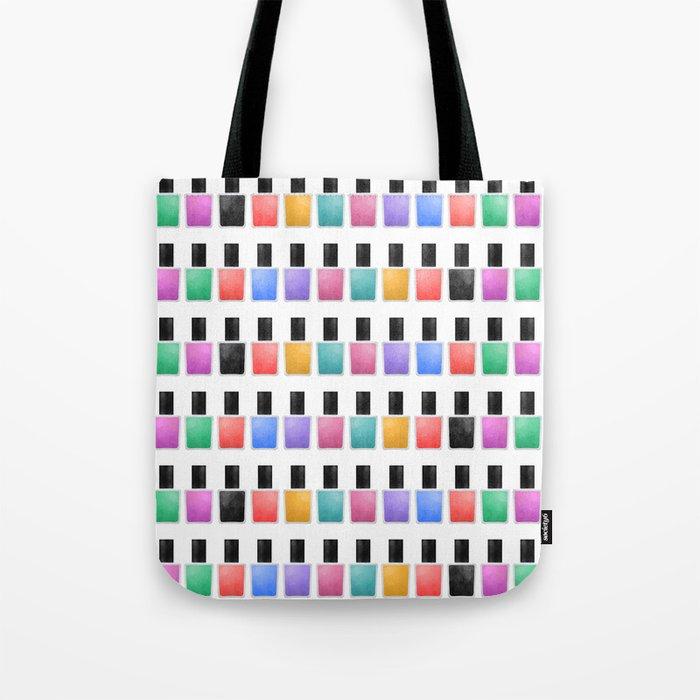 Nail Polish Tote Bag By Avenger Society6