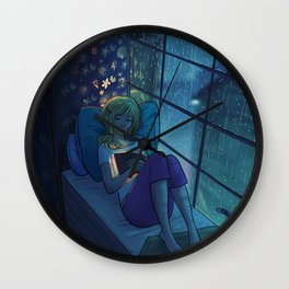 A Good Book Wall Clock