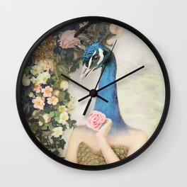 Fairytale Garden Wall Clock