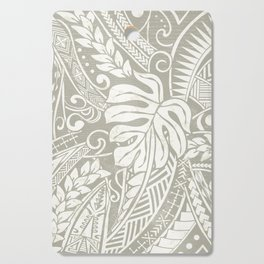 Vintage Organic Samoan Tribal Design Cutting Board