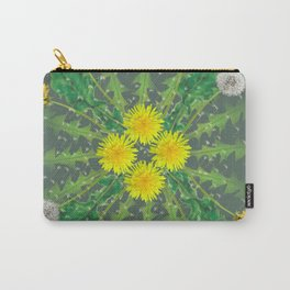 Dandelion Cycle Carry-All Pouch