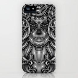Dia De Los Muertos iPhone Case