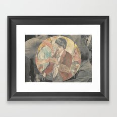 boys drinking cheap whiskey Framed Art Print