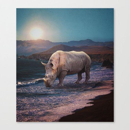 Giant Ashore Canvas Print