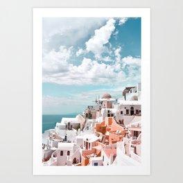 Santorini, Oia Art Print