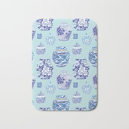 Chinoiserie Ginger Jar Collection No.3 Bath Mat