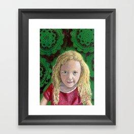 YAEL Framed Art Print