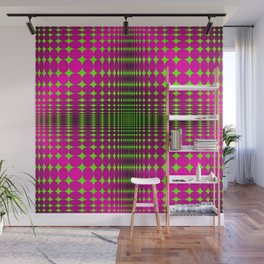 Optical illusions in graphics, art. Wall Mural