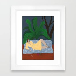 A Tropical Night Framed Art Print
