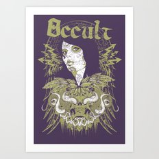 Occult beauty Art Print