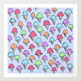 ice cream ice cream -3- Art Print