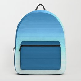 Sea blue Ombre Backpack