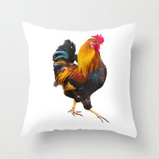 Fire Rooster. Symbol 2017 Throw Pillow
