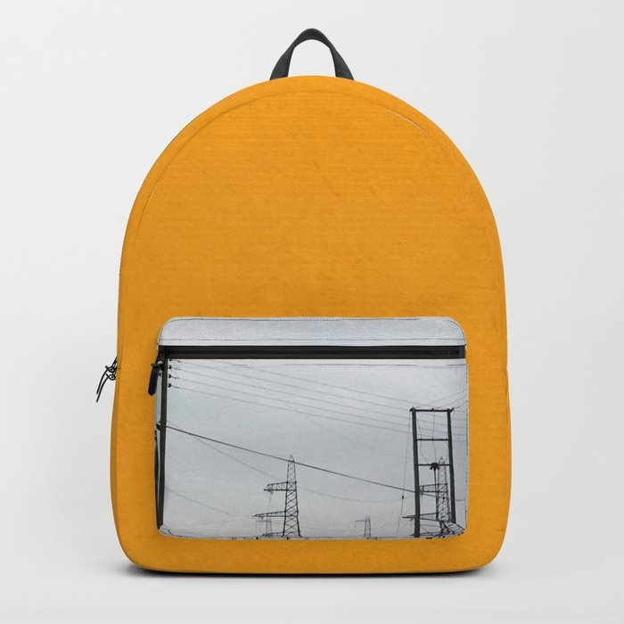 Orange Pylons Backpack