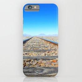 Railway in Bolivia iPhone Case