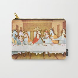 Last Supper Unicorn Carry-All Pouch