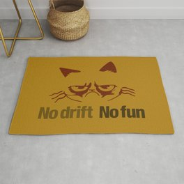 No drift No fun v3 HQvector Rug