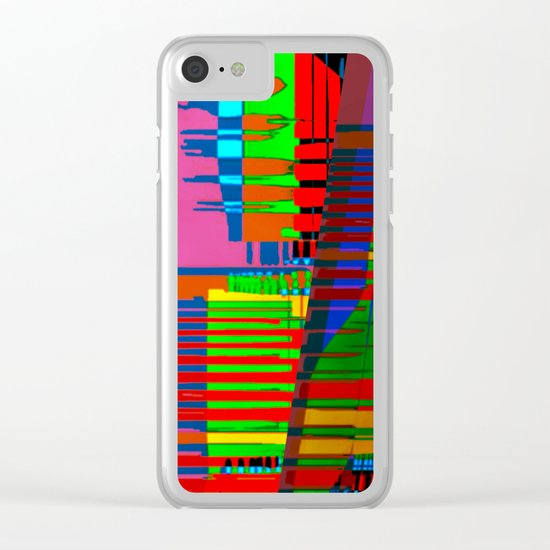 Spatial Segmentation 17-07-16 Clear iPhone Case