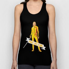 Fight Like a Girl: Beatrix Kiddo Unisex Tank Top