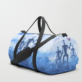 Tech Meets Nature Duffle Bag