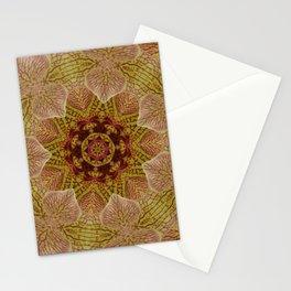 Orchid Mandala Stationery Cards
