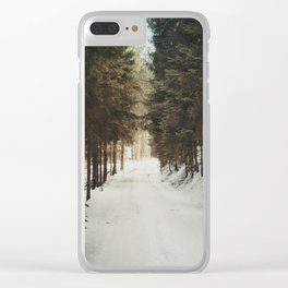 Attersee (15) Clear iPhone Case