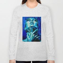 Kintsugi portrait Long Sleeve T-shirt