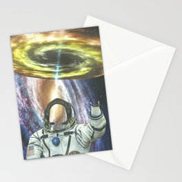 Invisible Space Stationery Cards