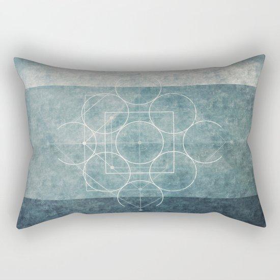 Ancient Symbols Rectangular Pillow