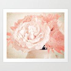 Pink Vanilla  Art Print