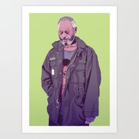 90s Art Prints featuring 80/90s  - DS by Mike Wrobel