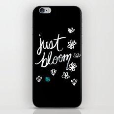 Just Bloom iPhone & iPod Skin
