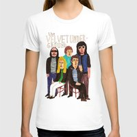 velvet underground T-shirts featuring The Velvet Underground by Angela Dalinger