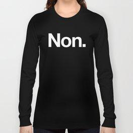 Non Long Sleeve T-shirt