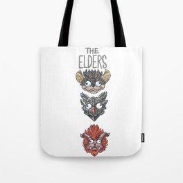 Monster Hunter World Elder Dragons Dropdown Version Tote Bag