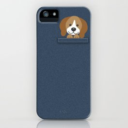 Beagle in a Pocket iPhone Case