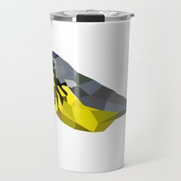 Bird art canada warbler Yellow gray Travel Mug