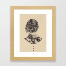 Demure Framed Art Print