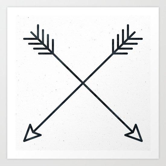 Arrows - Black and White Arrow Adventure Wanderlust Vintage Compass Design by naturemagick
