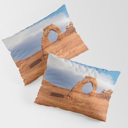 Delicate Arch 0415 - Arches National Park, Moab, Utah Pillow Sham