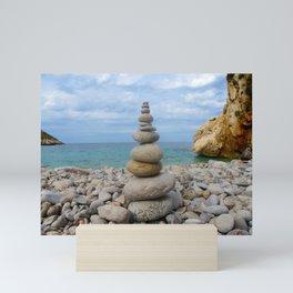Maritime Sound of Sicily Mini Art Print