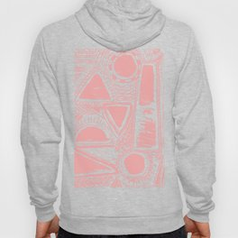Abstract pattern 1 pink Hoody