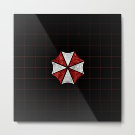 Resident Evil Umbrella Corporation  Metal Print