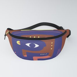 Mother Earth - Minimal Modern Mid-Century Snake Fanny Pack