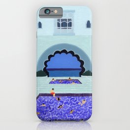 Scallop pool iPhone Case