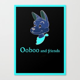 Ooboo and friends: Ooboo Poster Canvas Print