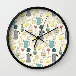 Cin Cin Wall Clock