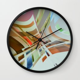 Abstract Composition 574 Wall Clock